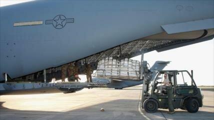 """EEUU envía otro avión militar con supuesta """"ayuda"""" para Venezuela"""