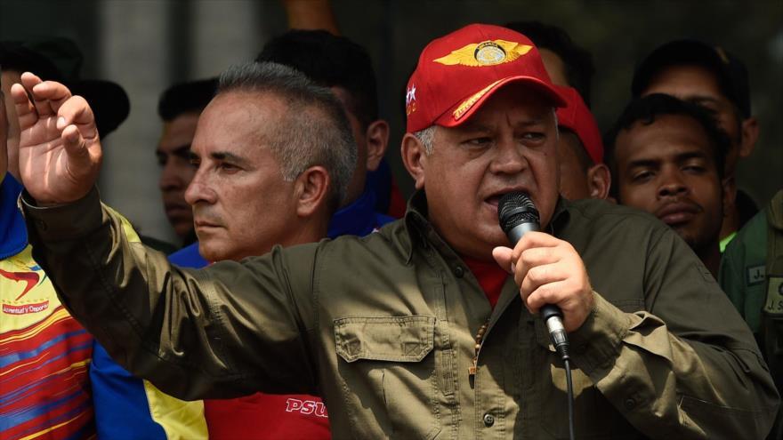 """Cabello acusa al """"imperialismo"""" del apagón en Venezuela   HISPANTV"""