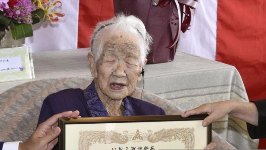 Anciana japonesa de 116 años es la persona más longeva del mundo