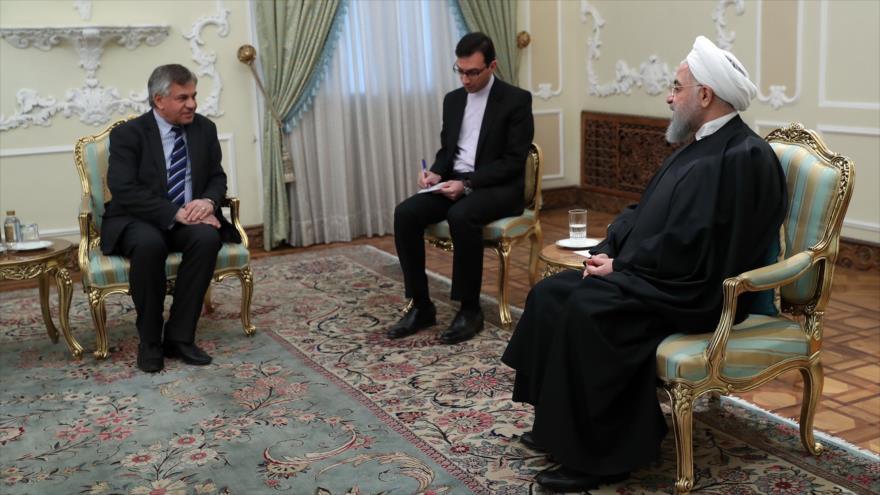 Rohani: las relaciones entre Irán e Irak son un paradigma en la zona | HISPANTV