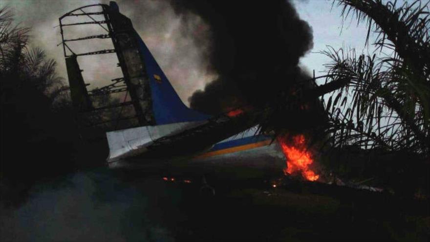 Un accidente aéreo en Colombia deja 12 muertos