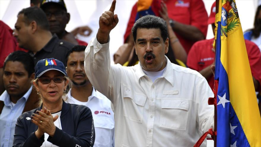 Maduro promete vencer la injerencia de EEUU con resistencia | HISPANTV