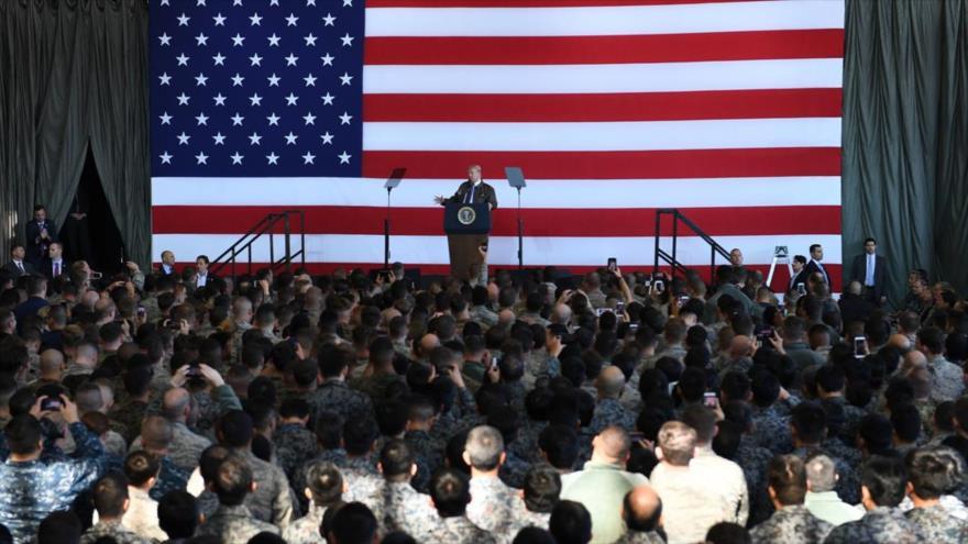 Trump planea que aliados paguen 150% por albergar sus tropas | HISPANTV