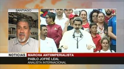 Jofré Leal: EEUU pretende generar terror entre venezolanos
