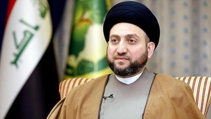 El clérigo chií iraquí Seyed Amar al-Hakim.