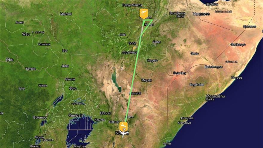 Se estrella Boeing 737 de Etiopía con 157 personas a bordo