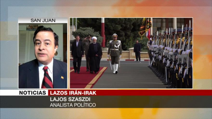 Szászdi: EEUU no podrá romper lazos inquebrantables Irán-Irak