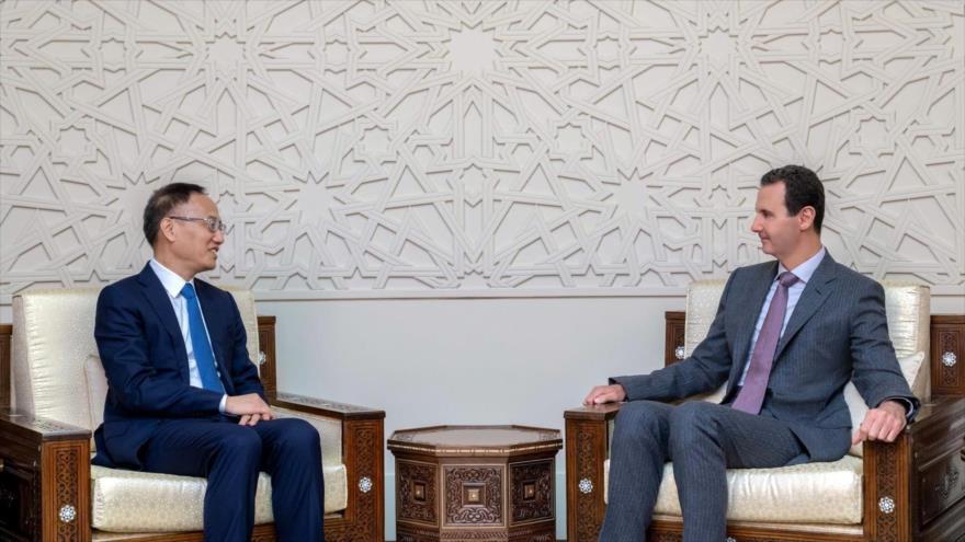 "Al-Asad denuncia la ""guerra económica"" del Occidente contra Siria   HISPANTV"