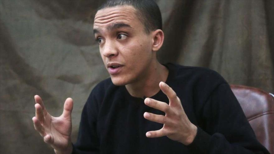 Mounsef al-Mkhayar, un exmiembro italiano del grupo EIIL (Daesh, en árabe).