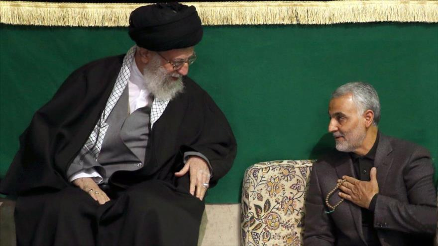 Líder otorga al general Soleimani la más alta orden militar iraní
