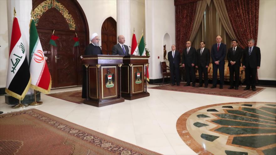 Irán e Irak no dejarán que nada frene desarrollo de sus vínculos