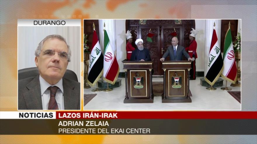 Zelaia: Irán e Irak pueden evitar que EEUU reanime el terrorismo | HISPANTV