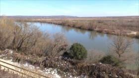 El río Evros, una puerta griega de refugiados para alcanzar Europa