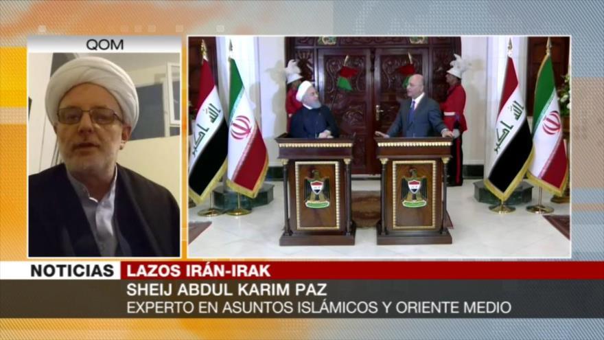 'Irán e Irak, liberados de dictaduras, ya pueden salvar la región'
