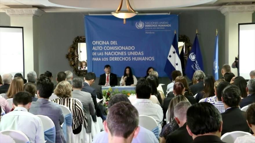 OACNUDH: Honduras vive un estado crítico en derechos humanos