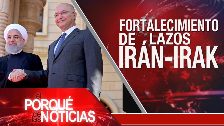 El Porqué de las Noticias: Lazos Irán-Irak. Caótico Brexit. Argelia, crisis política