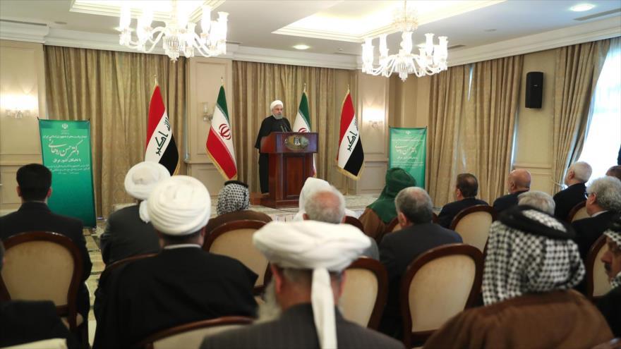 Rohani: EEUU siempre ha ideado complots contra Oriente Medio | HISPANTV