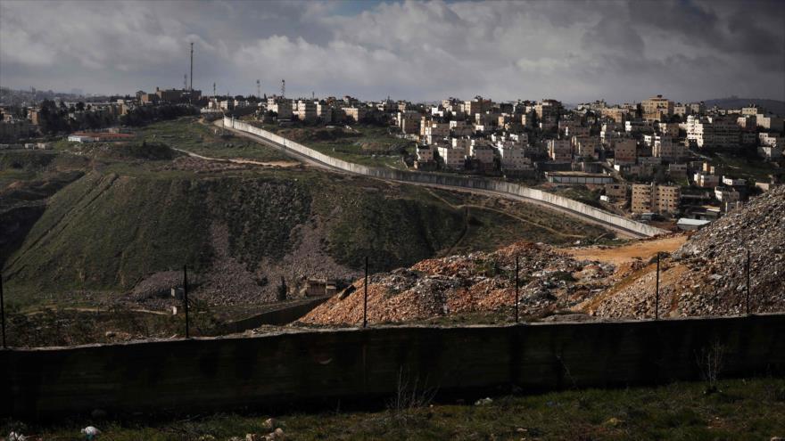 Vista general del asentamiento ilegal israelí de Neve Yaacov, en el este de la ciudad de Al-Quds (Jerusalén), 17 de enero de 2019. (Foto: AFP)