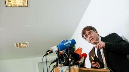Puigdemont dice que volverá a Cataluña de ser elegido eurodiputado