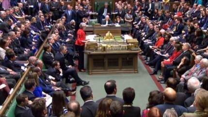 Parlamento británico rechaza nuevamente acuerdo del Brexit de May