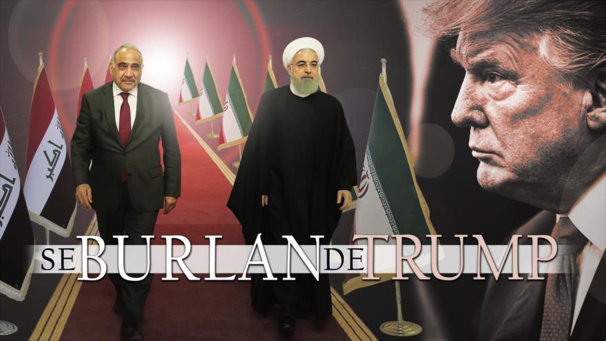 """Detrás de la Razón: Alerta """"The Nation"""", Trump alista guerra contra Irán, peor que Irak, adonde viajó Rohani"""