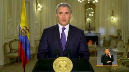 Insatisfacción con el presidente colombiano por objetar la JEP