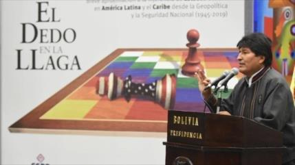 Morales: EEUU fomenta el terrorismo para robar recursos naturales