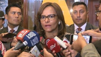 Piden renuncia a presidenta de AN de Ecuador por audio filtrado