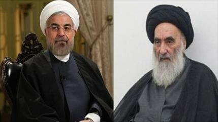 Presidente de Irán se reúne con el gran ayatolá Sistani en Irak