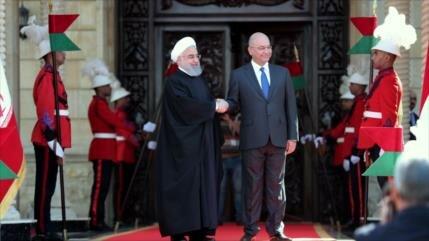 Bloomberg: Refuerzo de lazos económicos Irán-Irak margina a EEUU
