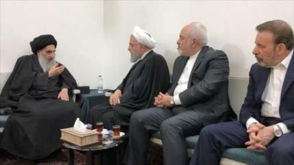 Ayatolá Sistani agradece apoyo de Irán a Irak en lucha contra EIIL