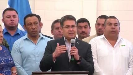 Presidente hondureño pide más presupuesto para militares
