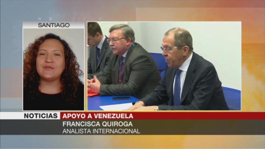 Quiroga: Apoyo de Rusia y China muestra que Venezuela no está sola