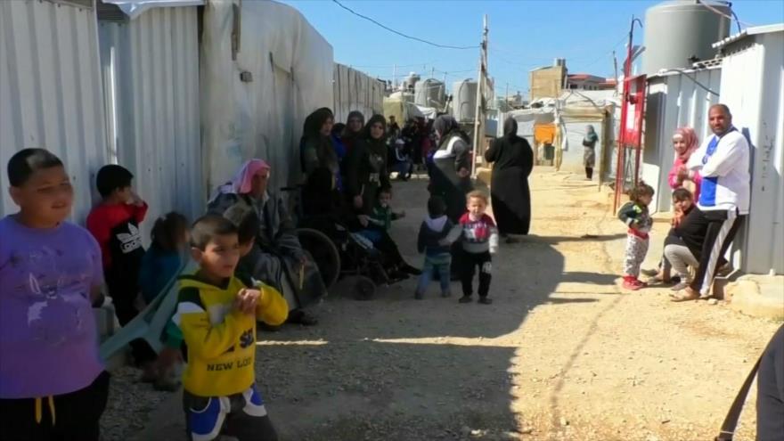 La ONU y la UE piden ayuda urgente para desplazados sirios