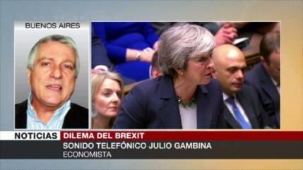 Gambina: Brexit ha causado una situación sin salida en Reino Unido