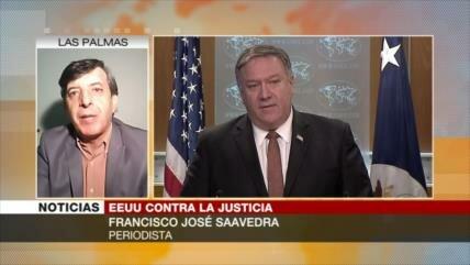 Saavedra: EEUU, interesado en que sus crímenes no vean la luz
