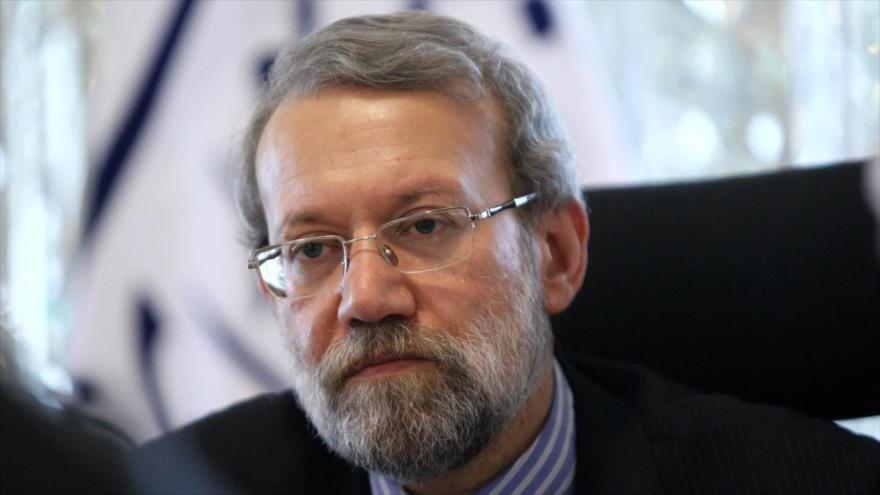 El presidente del Parlamento de Irán, Ali Lariyani.