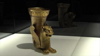 Alicante en España acoge los tesoros de la antigua Persia