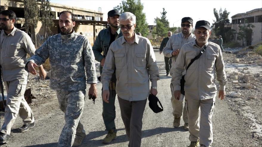 Visita oficial de jefe de Estado Mayor de Irán a Siria