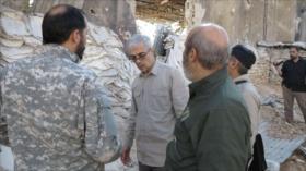 Irán: Fuerzas foráneas no autorizadas deben salir de Siria