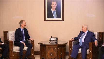 'Sirios decidirán sobre Constitución sin interferencia extranjera'