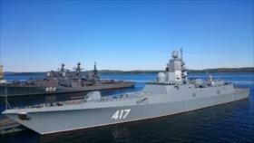 Rusia desarrolla fragatas con hasta casi 50 misiles de crucero