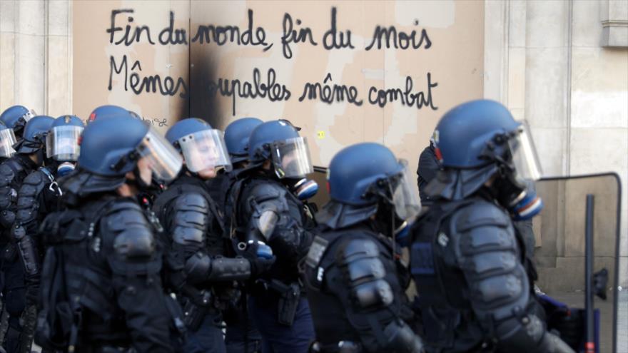 Gobierno francés prepara represión más dura de chalecos amarillos | HISPANTV