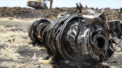 Semejanzas en accidente del avión etíope Boeing y en el indonesio