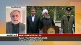 Coloane: EEUU sanciona a quien no se alinee con su hegemonismo