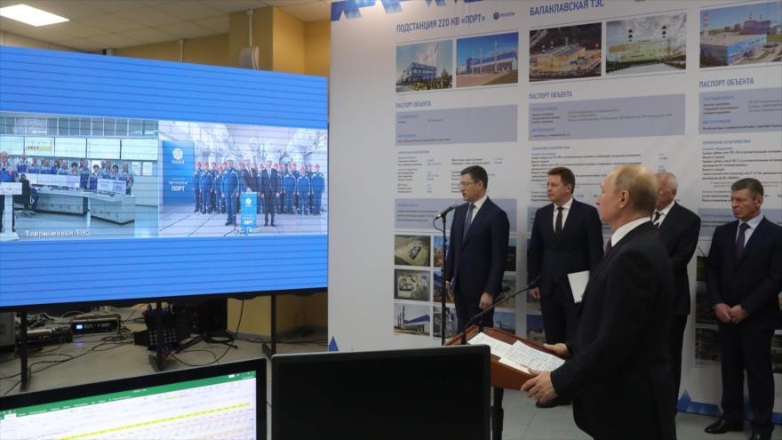 Putin refuerza la seguridad energética de la península de Crimea | HISPANTV