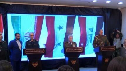 Irán, Siria e Irak se reúnen contra el terrorismo