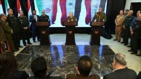 Irán, Siria e Irak acuerdan medidas para lucha antiterrorista