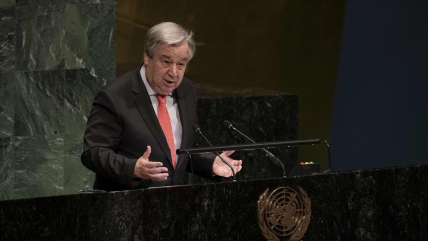 El secretario general de la ONU, António Guterres, 11 de marzo de 2019. (Foto: AFP)