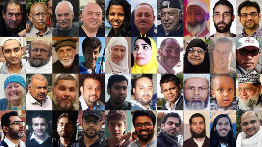 Víctimas del atentado terrorista de Nueva Zelanda